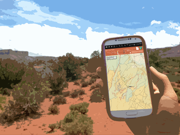 BLM-Utah Offers New Recreation Maps for Mobile Devices