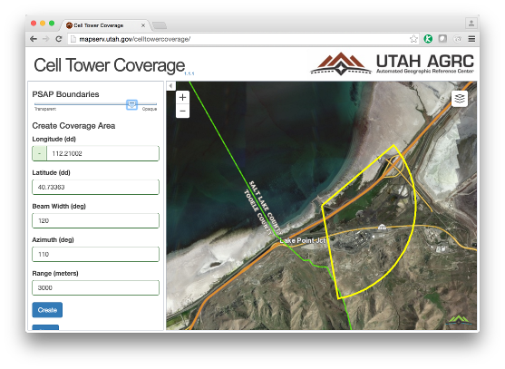 Utah sector analysis and visualization website
