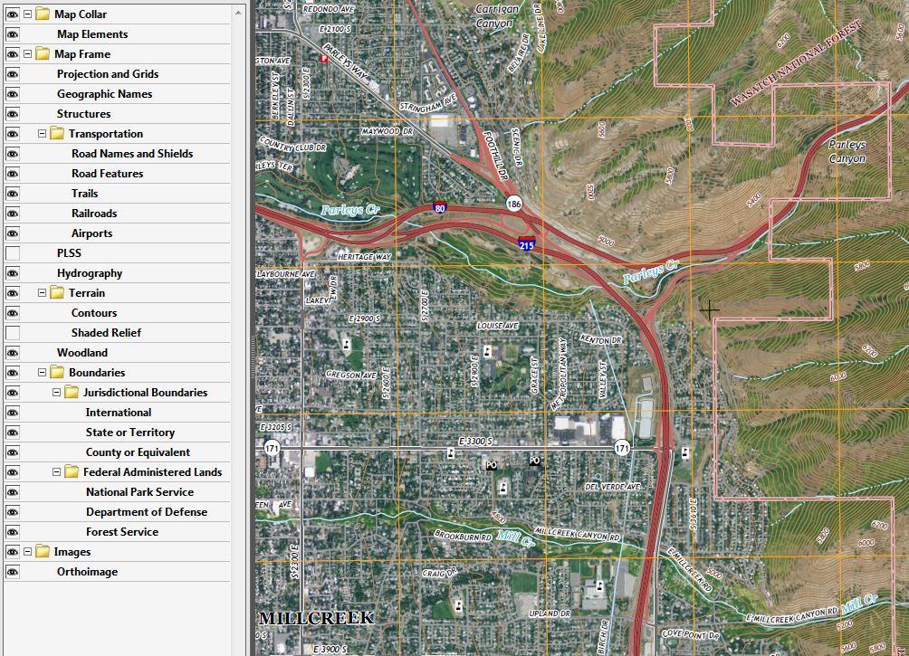 USGS GeoPDF Topographic Maps