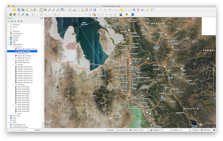 How To Use AGRC Base Maps in QGIS
