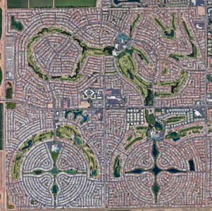 Sun City, AZ (Disguising the Grid)