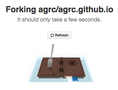 Forking the AGRC Website Repo in GitHub