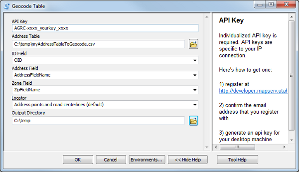 New: Utah Geocoding Toolbox for ArcGIS Desktop