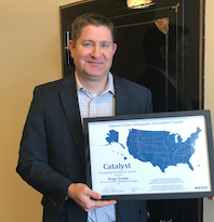 Evan Curtis, Catalyst Award
