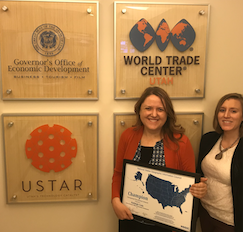 Kelleigh Cole and GOED, Champion Award
