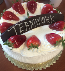 Teamwork Cake for AGRC Website