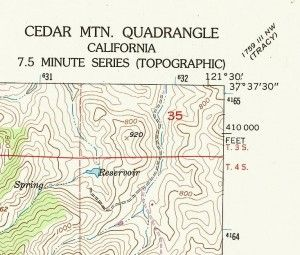 USGS 7.5 Minute Map
